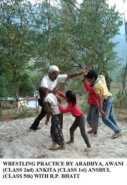 Wrestling Practice